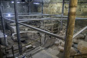 New portions of Western Wall and Roman theater unveiled in Jerusalem