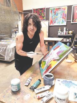 <p>KISS frontman Paul Stanley, the son of Jewish immigrants, works in a variety of media. This year, he's had four gallery shows.</p>