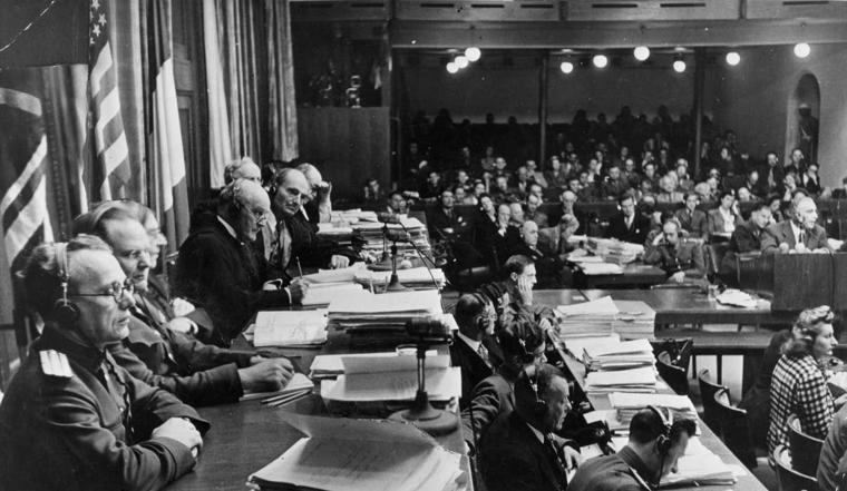 The Nuremberg war crimes trials