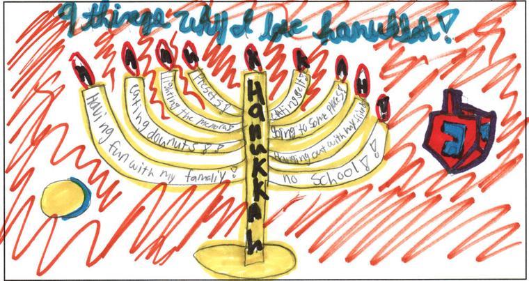 Leora-Leah Sulcymanova, age 10, Phoenix Hebrew Academy