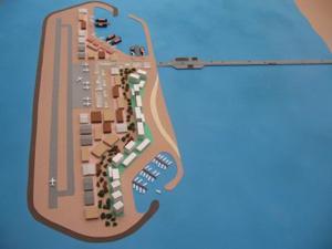 Proposed island off the Gaza strip