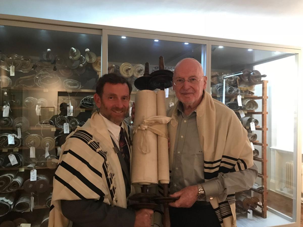 New Tucson synagogue receives historic Torah