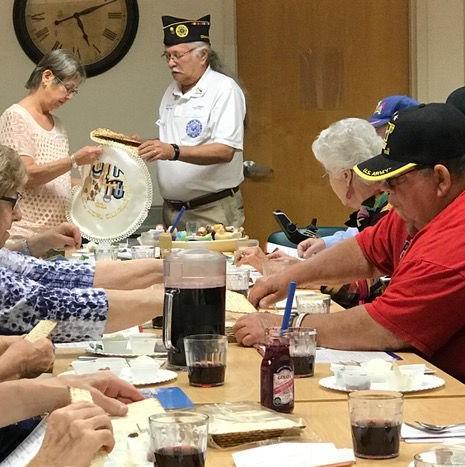 A seder for veterans