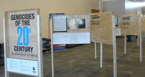 'Genocides of the 20th Century' exhibit
