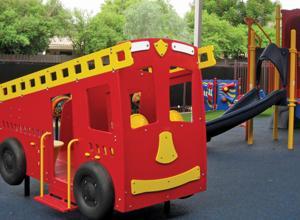 Fun fire truck