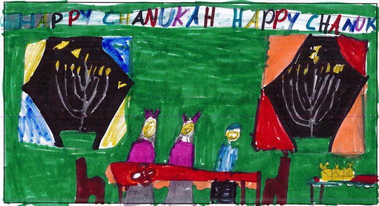 Atara Goetz, age 8, Torah Day School of Phoenix