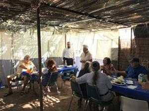 War veterans celebrate Sukkot