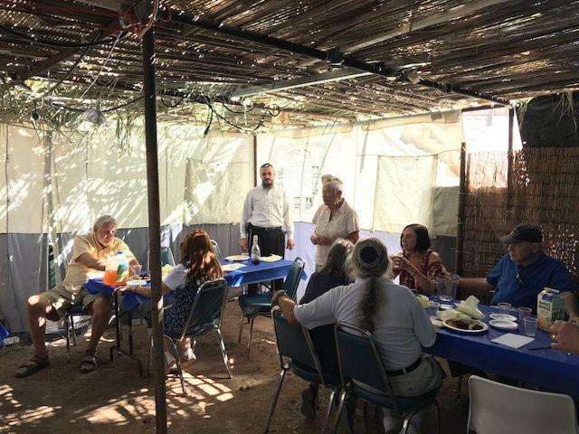 War veterans celebrate Sukkot