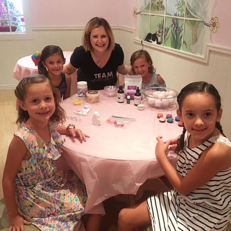 The J and Girly Girlz offer glam after-school program