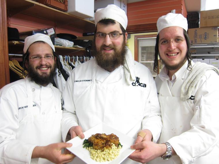 Kosher Chef Students