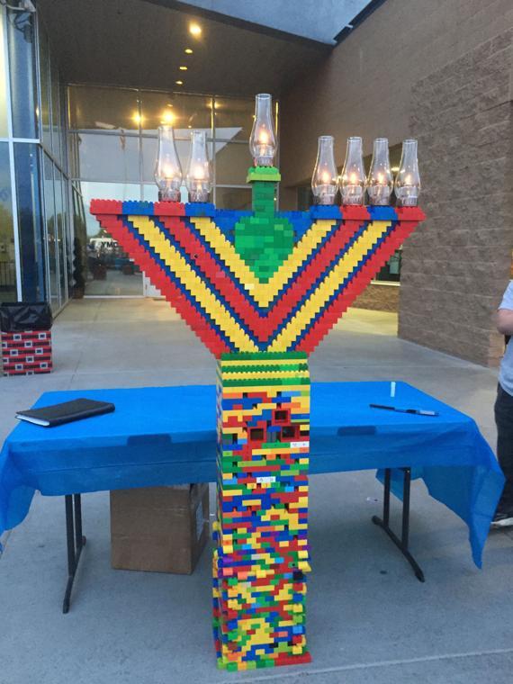 A Lego Chanukah