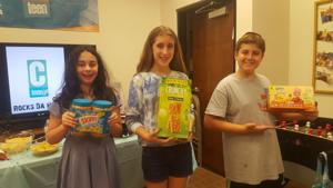 Teens help Houston