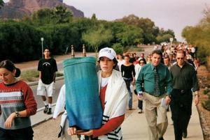 Temple Solel's Torah Walk