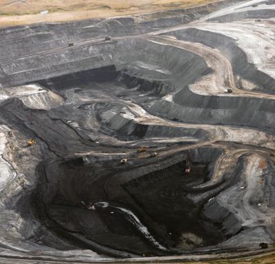 Coal production down