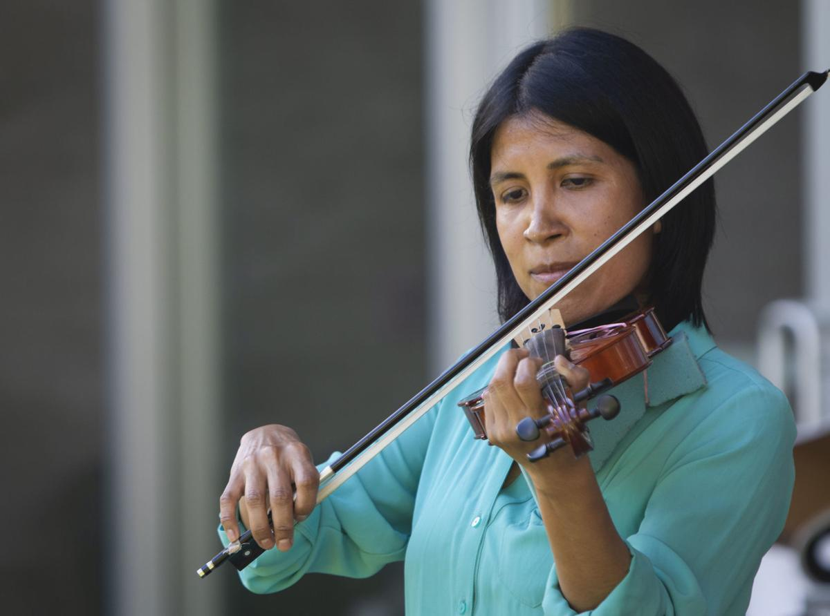 JH Music Academy hosts first outdoor spring recital