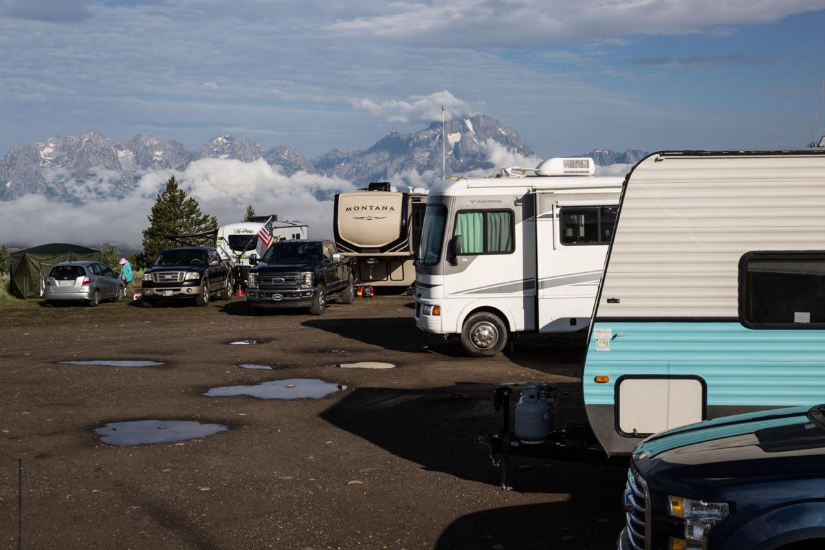 Bridger-Teton National Forest camping patrol