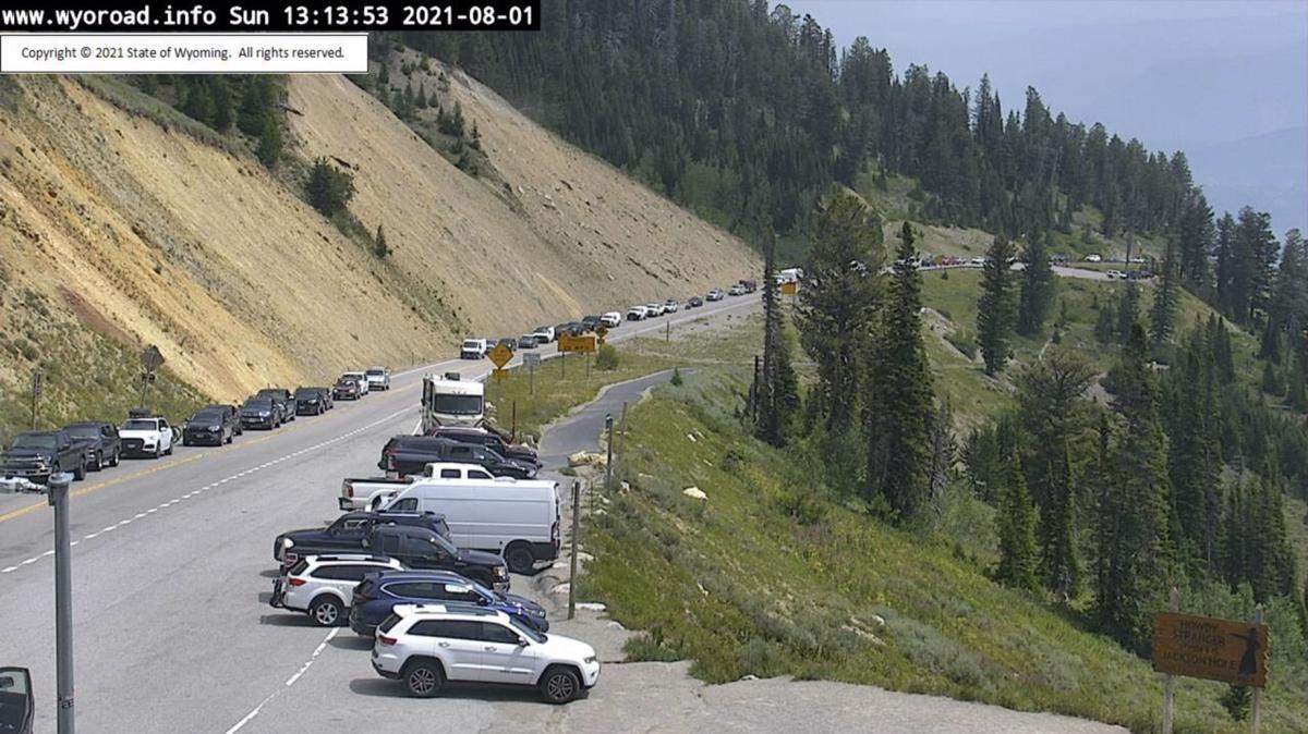 Accident at Teton Pass