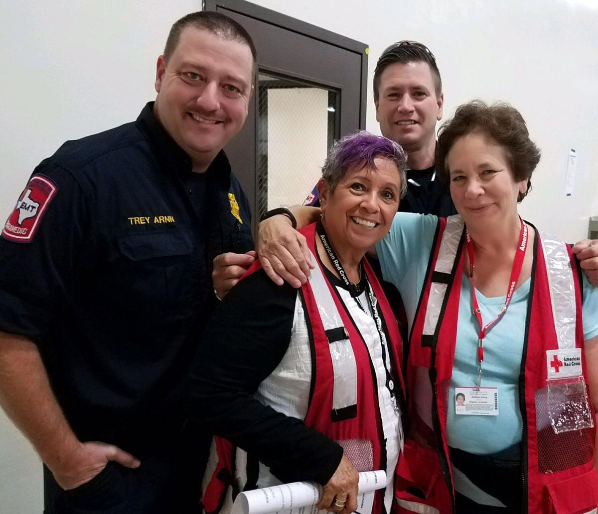 Hurricane Harvey volunteer