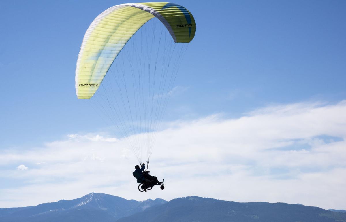 Adaptive Paragliding