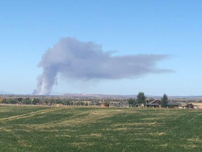 Felt, Idaho burn