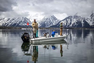 Jackson Lake Ice Off Fishing Derby