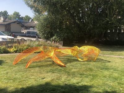 Elk shed sculpture