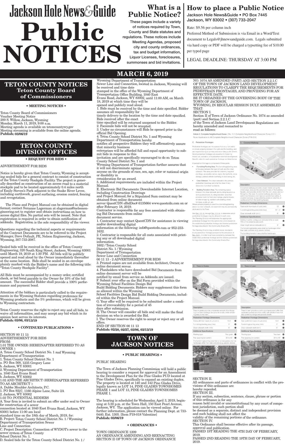 Public Notices, March 6, 2019