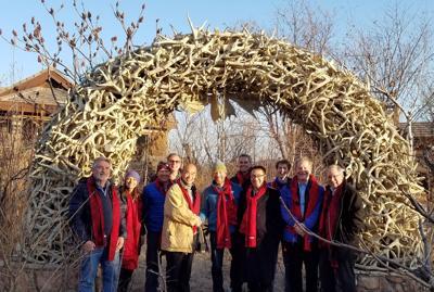Jackson Hole delegation in China