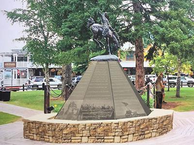 Rendering of new veterans monument