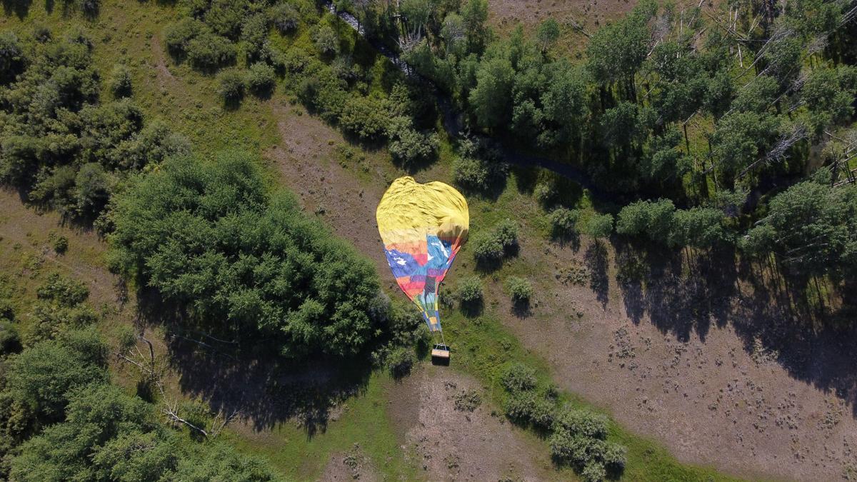 Hot air balloon accident