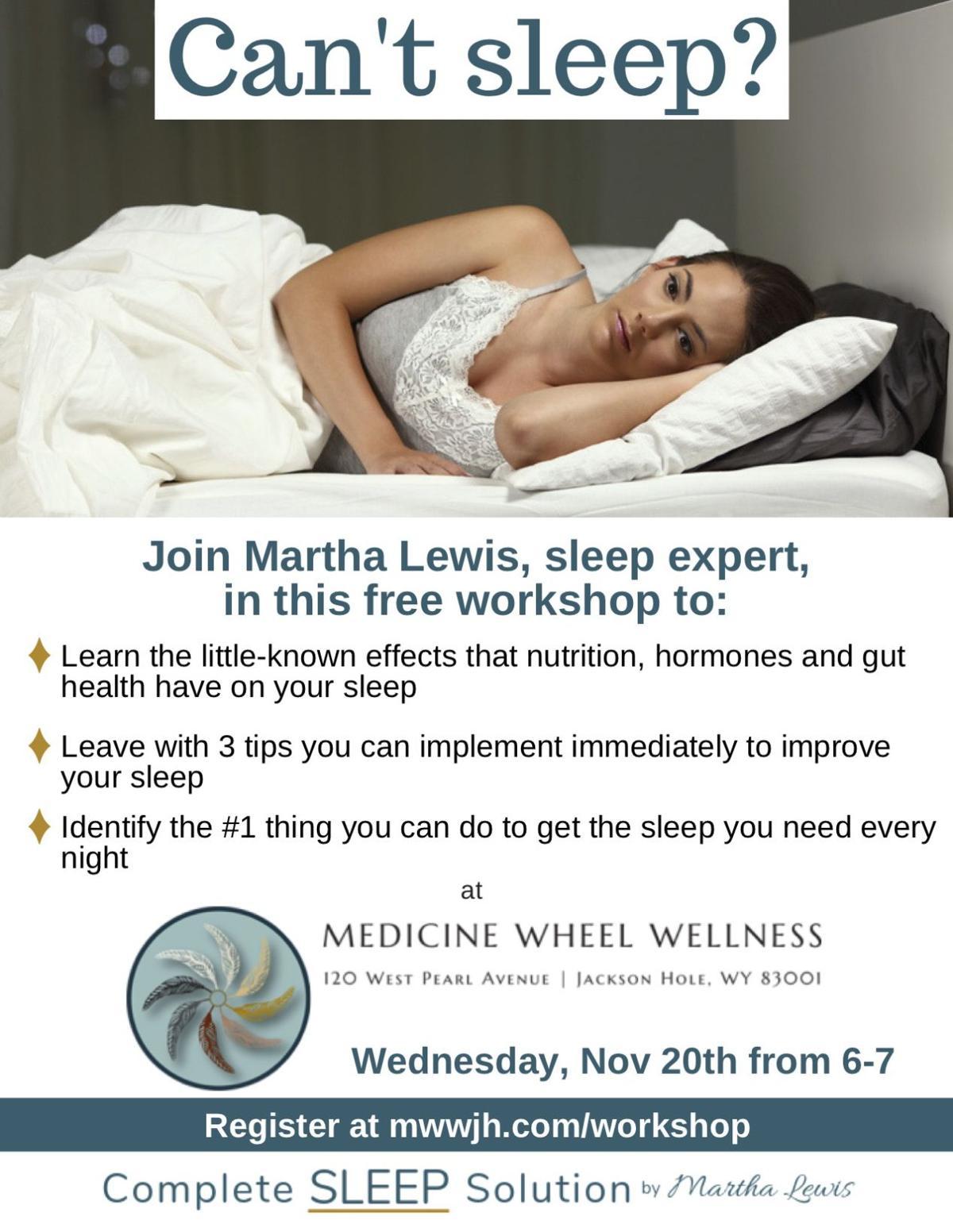 Complete Sleep Solution Workshop