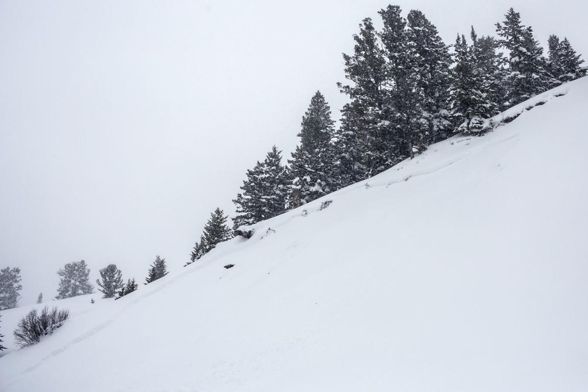 Teton Pass avalanche work