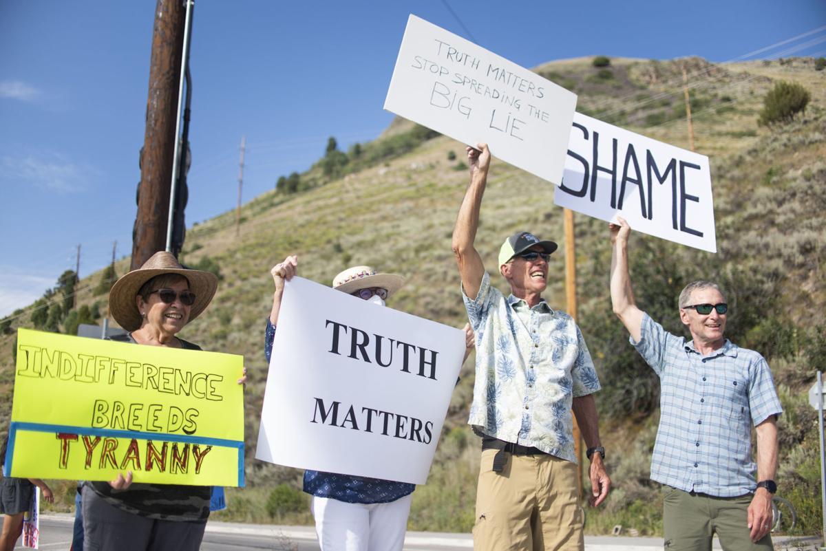 Marjorie Taylor Greene Protest