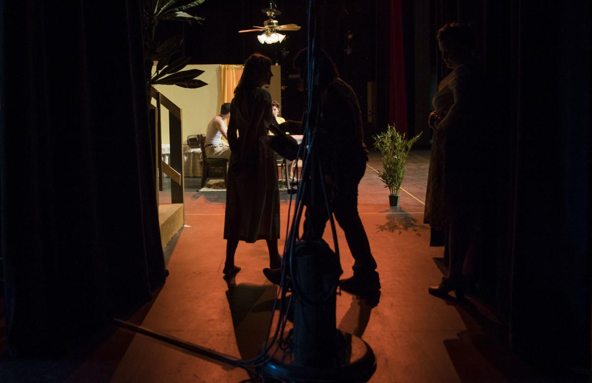 """Riot Act Inc. rehearses for """"A Streetcar Named Desire"""""""