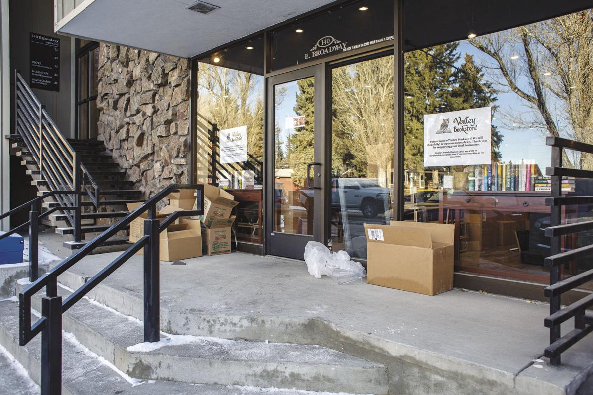 Valley Bookstore new location