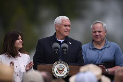VP Pence in Yellowstone