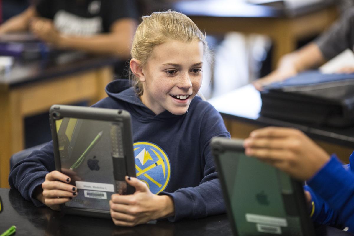 Jackson Hole Middle School iPads