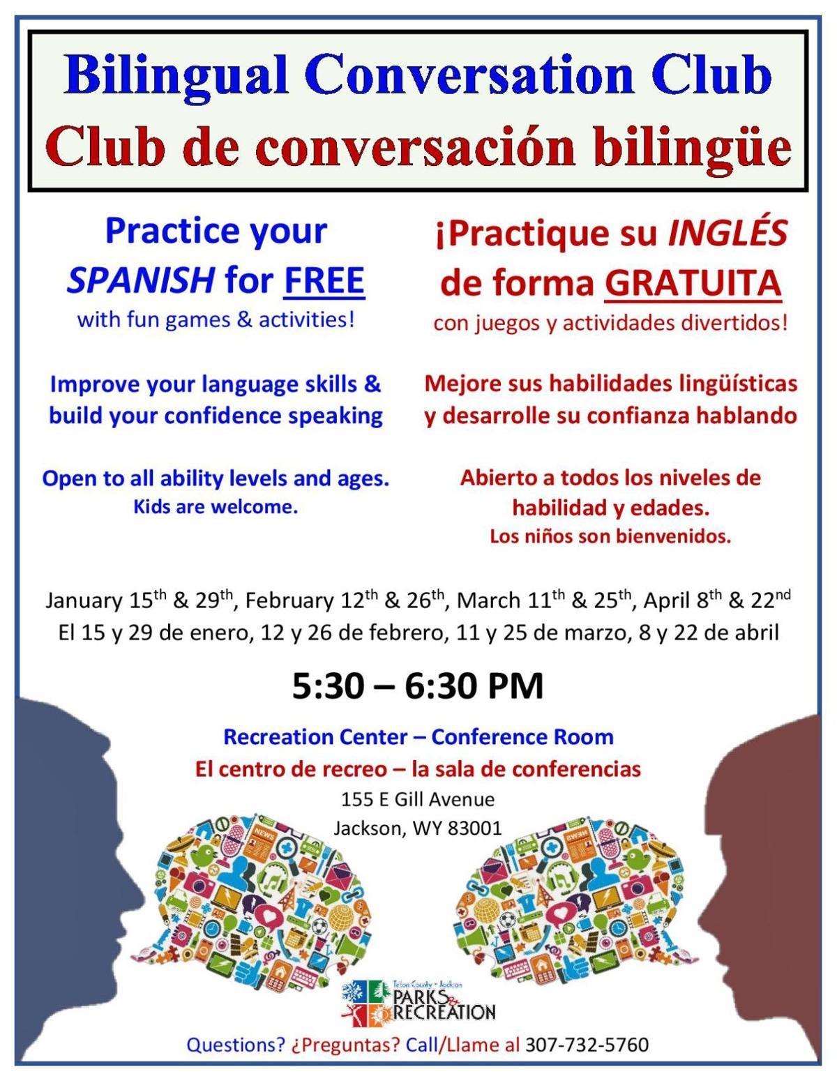 Bilingual Conversation Club / Club de conversación bilingüe