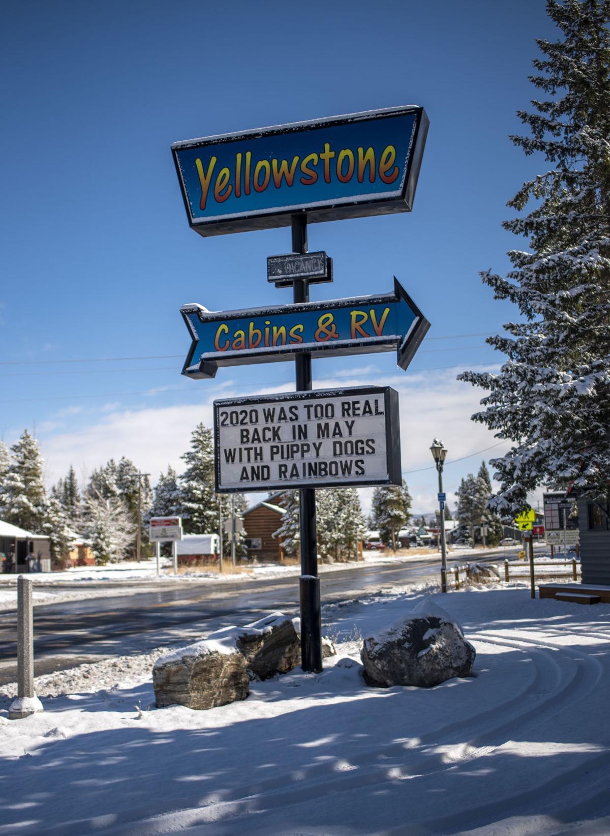 Last days in Yellowstone, 2020