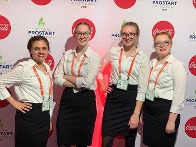 Restaurant management team takes 12th in the nation
