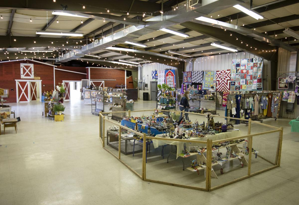 Teton County Fair Blue Ribbon Exhibit Hall