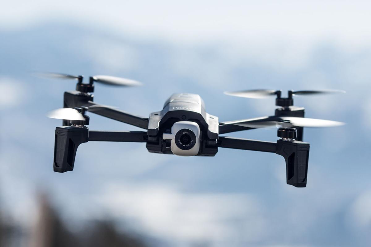Wyoming Highway Patrol drone