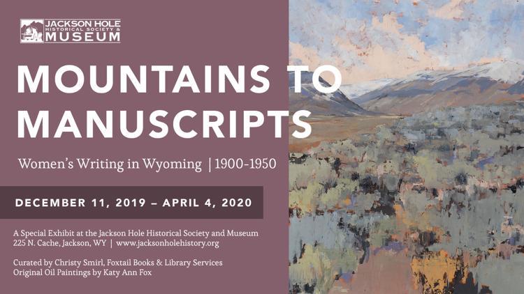 Exhibit - Mountains to Manuscripts: Women's Writing in Wyoming 1900-1950