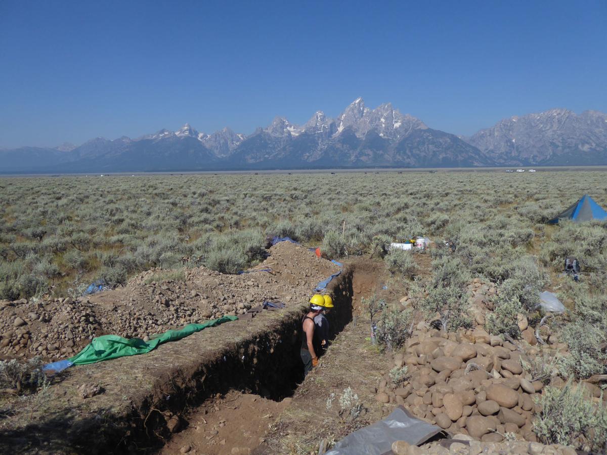 Teton fault study