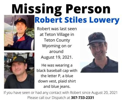 Missing person - Robert Lowery