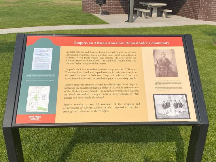 Historical Marker Commemorates Black Homesteading Town in Wyoming