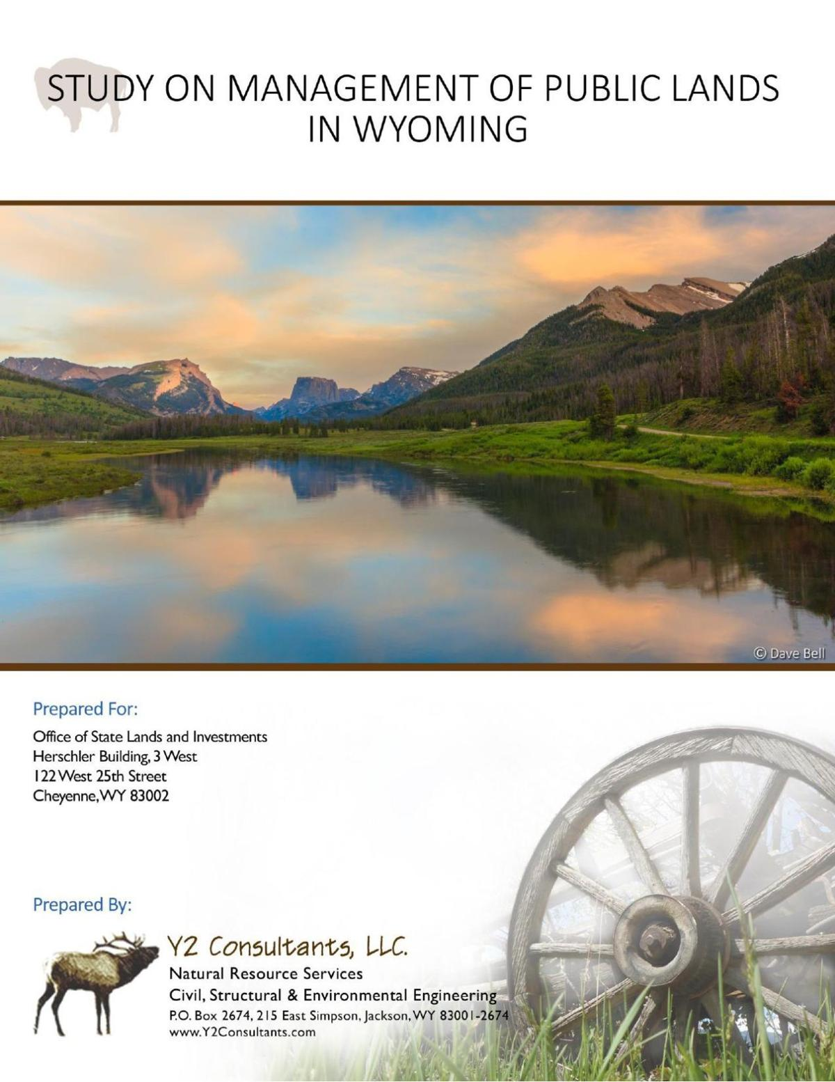 Study on Management of Public Lands in Wyoming