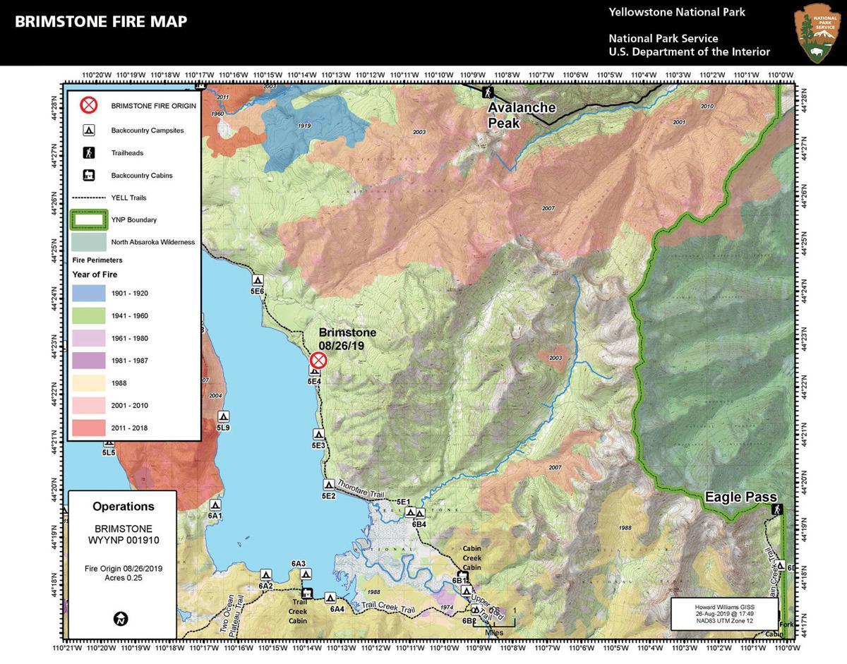 Brimstone Fire map