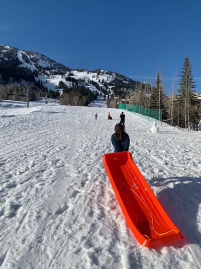 Sledding at Jackson Hole Mountain Resort