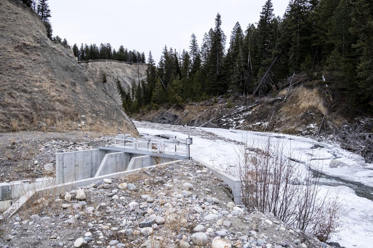 Spread Creek project
